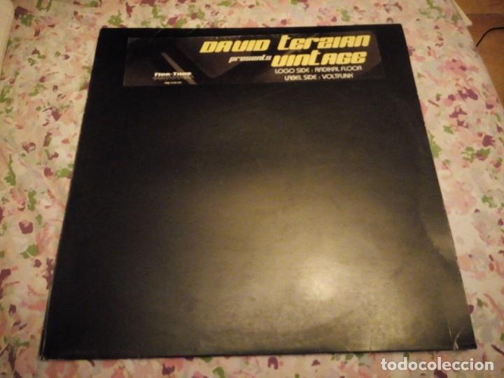 DAVID TERZIAN ?– VINTAGE,2003- RADIKAL FLOOR VOLTFUNK (Música - Discos de Vinilo - Maxi Singles - Techno, Trance y House)