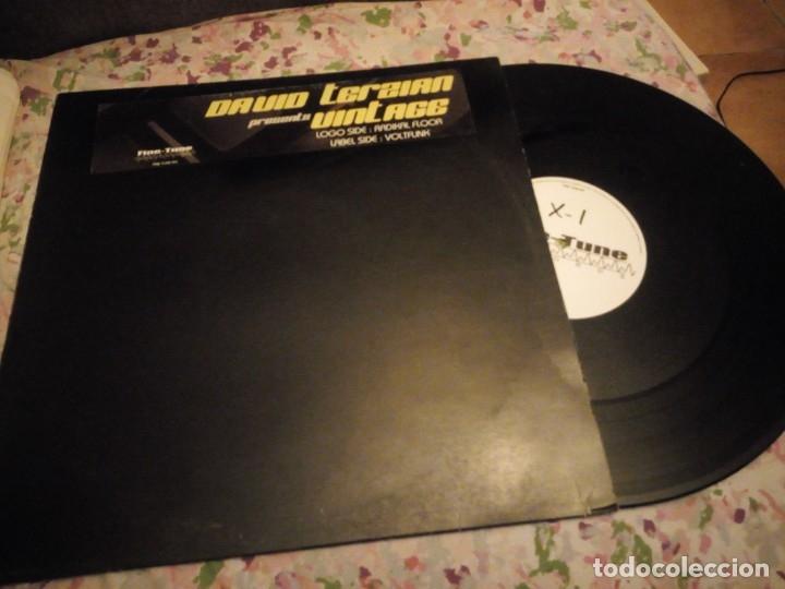 Discos de vinilo: David Terzian ?– Vintage,2003- Radikal Floor Voltfunk - Foto 2 - 178324026