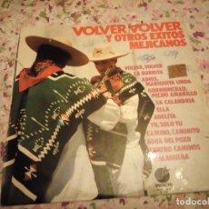 Discos de vinilo: TONI ROCA Y SUS MARIACHIS, VOLVER VOLVER Y OTROS ÉXITOS MEJICANOS - LP IMPACTO 1974. Lote 178324258