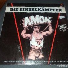 Discos de vinilo: DIE EINZELKAMPFER --- AMOK. Lote 178324572