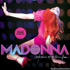 Discos de vinilo: MADONNA - CONFESSIONS ON A DANCE FLOOR - EUROPA - EDICIÓN LIMITADA DOBLE VINILO ROSA - NUEVO. Lote 178325392