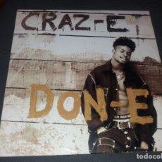 Discos de vinilo: DON-E --- CRAZY. Lote 178325403