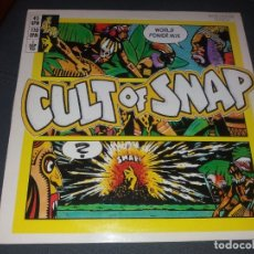 Discos de vinilo: SNAP --- CULT OF SNAP. Lote 178327067