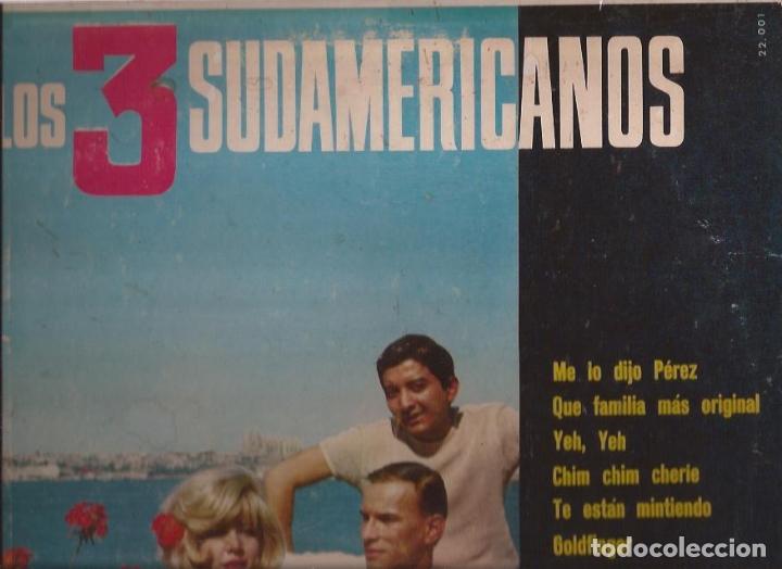 LP LOS 3 SUDAMERICANOS BELTER 22001 USA 1966 YE YE (Música - Discos - LP Vinilo - Grupos Españoles 50 y 60)