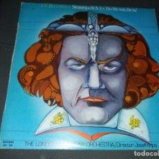 Discos de vinilo: L.V. BEETHOVEN SINFONIA Nº5 EN DO MENOR OP. 67. Lote 178332541