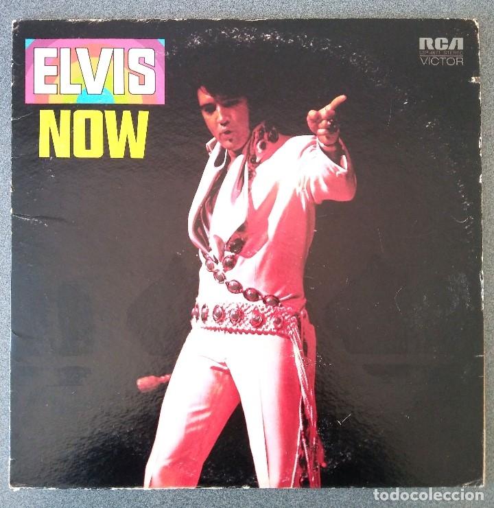 LP ELVIS NOW (Música - Discos - LP Vinilo - Rock & Roll)
