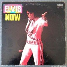 Discos de vinilo: LP ELVIS NOW. Lote 178333093