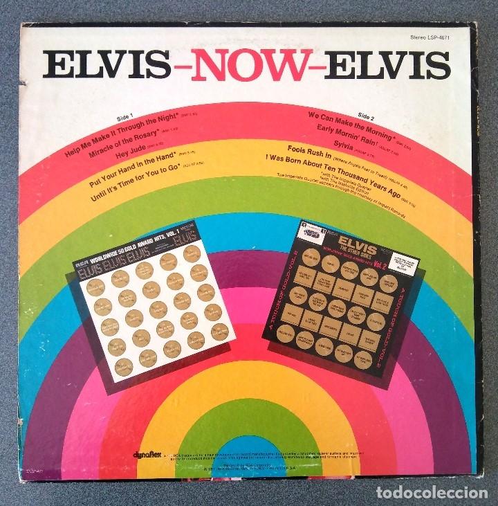 Discos de vinilo: Lp Elvis Now - Foto 5 - 178333093