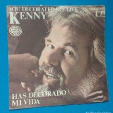 Discos de vinilo: KENNY ROGERS - HAS DECORADO MI VIDA. Lote 178334653