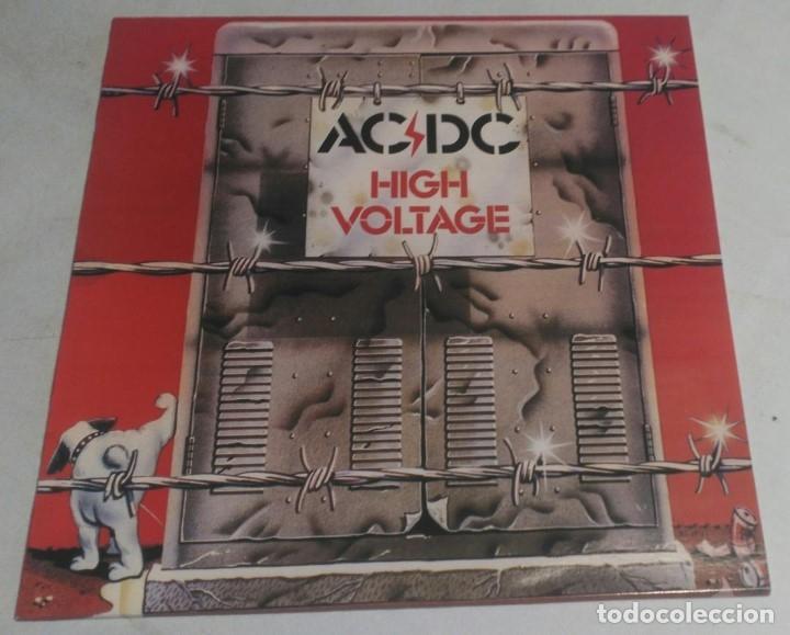 AC/DC – HIGH VOLTAGE AUSTRALIA LP ALBERT PRODUCTIONS (Música - Discos - LP Vinilo - Heavy - Metal)
