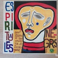 Discos de vinilo: LP VINILO-ESPIRITUALES NEGROS-CORAL POLIFÓNICA UNIVERSITARIA ZARAGOZA-PORTADA KIKO ARGÜELLO-AÑO 1968. Lote 178337835