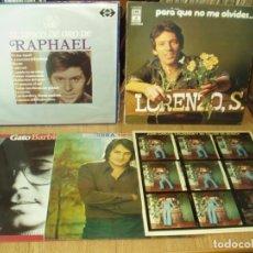 Discos de vinilo: LOTE 9 LP'S GRUPOS Y SOLISTAS ESPAÑOLES AÑOS 60-70. Lote 178338065