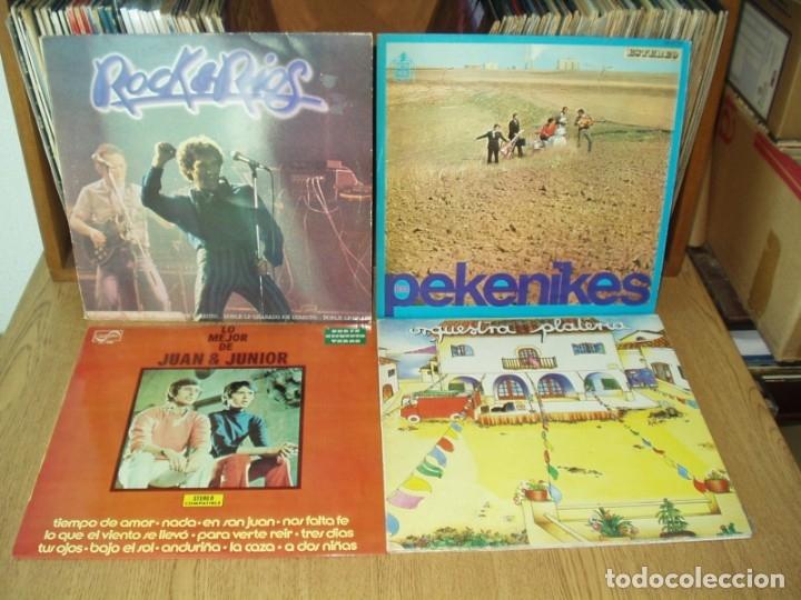 Discos de vinilo: LOTE 9 LPS GRUPOS Y SOLISTAS ESPAÑOLES AÑOS 60-70 - Foto 2 - 178338065