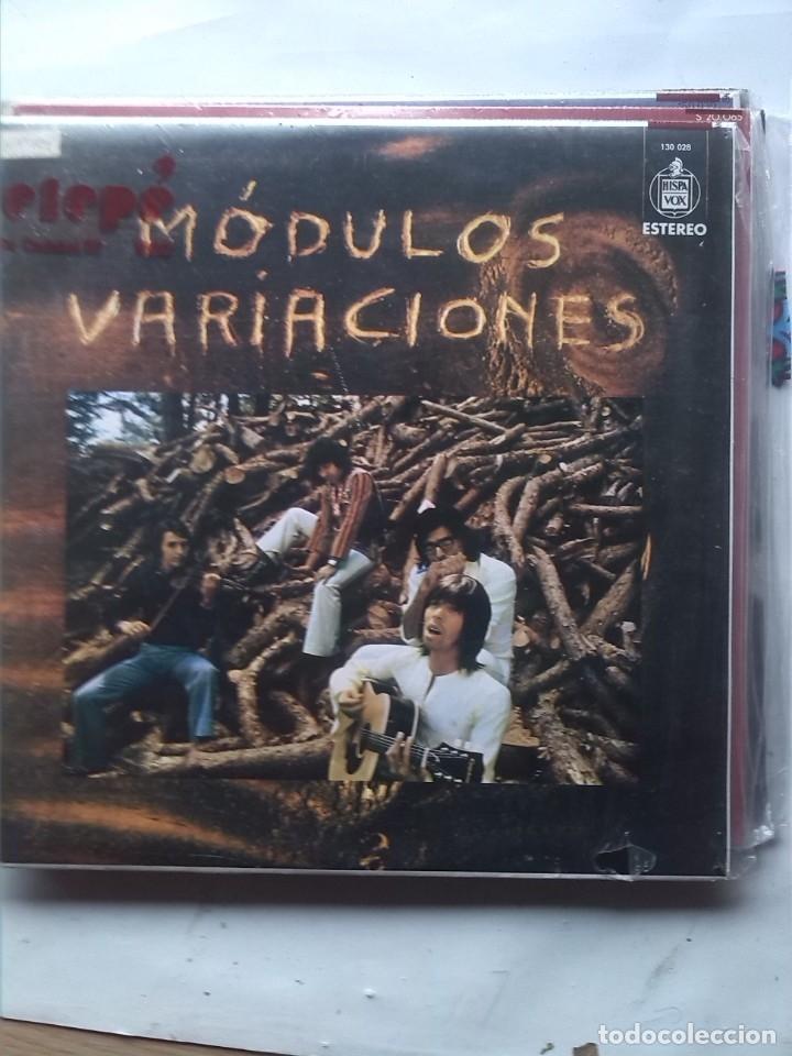 MODULOS VARIACIONES (Música - Discos - LP Vinilo - Grupos Españoles de los 70 y 80)