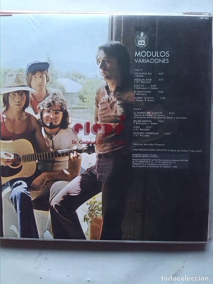 Discos de vinilo: MODULOS VARIACIONES - Foto 2 - 178342705