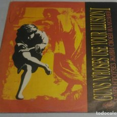Discos de vinilo: GUNS N' ROSES – USE YOUR ILLUSION I RUSIA-1993 2LPS. Lote 178346313