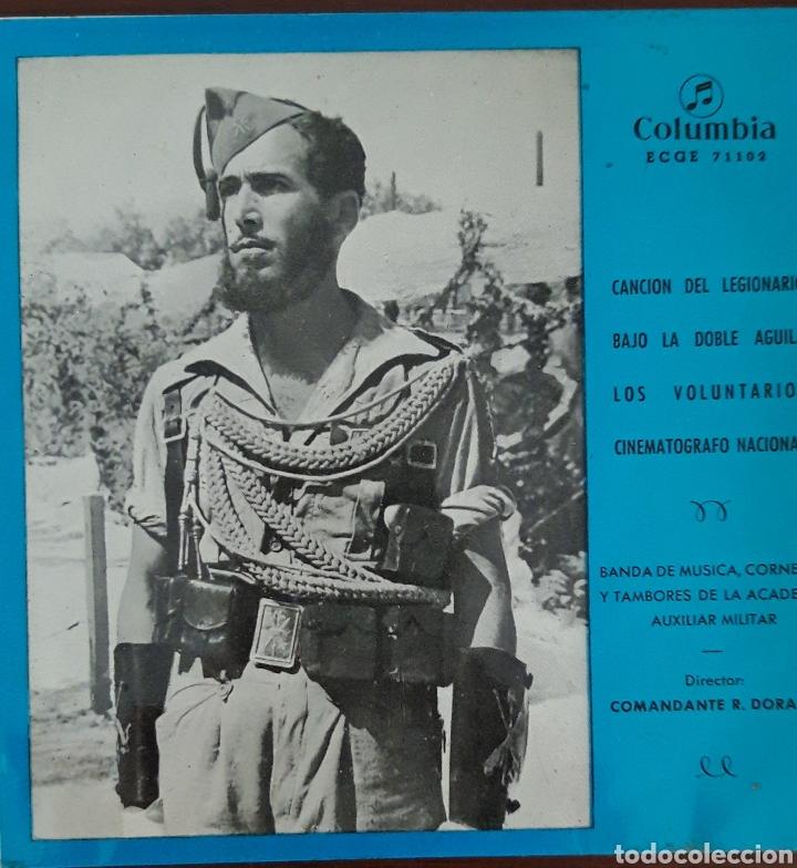 DISCO SINGLE HIMNOS- LA CANCIÓN DEL LEGIONARIO- (Música - Discos - Singles Vinilo - Clásica, Ópera, Zarzuela y Marchas)