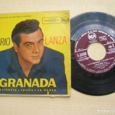 Discos de vinilo: DISCO DE MARIO LANZA ,GRANADA AÑO 1958. Lote 178351072