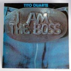 Discos de vinilo: LP PROMOCIONAL, TITO DUARTE. I AM THE BOSS. PRODUCIDO POR TONY RONALD.RCA.1979. Lote 178354176