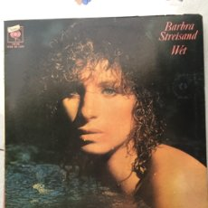 Discos de vinilo: BARBRA STREISAND WET. Lote 178359147