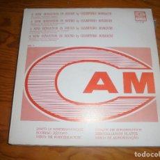 Discos de vinilo: GIAMPIERO BONESCHI. A NEW SENSATION IN SOUND, VOL 2. CAM, 1973. PROMOCIONAL. EDT. ITALIA. (#). Lote 178364652