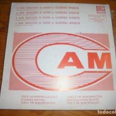 Discos de vinilo: GIAMPIERO BONESCHI. A NEW SENSATION IN SOUND, VOL 1. CAM, 1973. PROMOCIONAL. EDT. ITALIA. (#). Lote 178364853