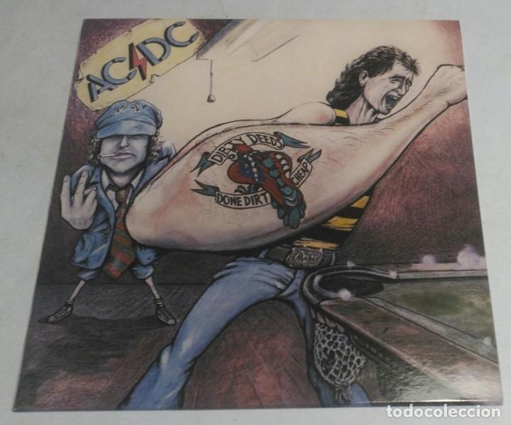 AC/DC – DIRTY DEEDS DONE DIRT CHEAP APLP 020 AUSTRALIA (Música - Discos - LP Vinilo - Heavy - Metal)