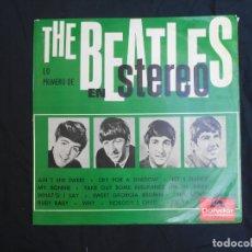 Discos de vinilo: THE BEATLES - LO PRIMERO THE BEATLES EN STEREO - EDICION ESPAÑOLA . Lote 178369817