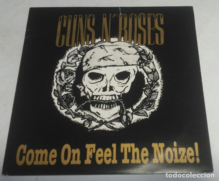 GUNS N' ROSES – COME ON FEEL THE NOIZE! GERMANY-1991 LP (Música - Discos - LP Vinilo - Heavy - Metal)