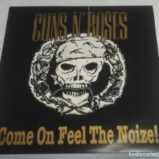 Discos de vinilo: GUNS N' ROSES – COME ON FEEL THE NOIZE! GERMANY-1991 LP. Lote 178370650