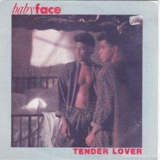 Discos de vinil: BABYFACE(BABY FACE)TENDER LOVER DEL 89 PROMO. Lote 178371062