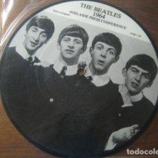 Discos de vinilo: THE BEATLES ************ 1964 ADELAIDE PRESS CONFERENCE PICTURE DISC!. Lote 178382205