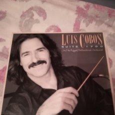 Discos de vinilo: DISCO LUIS COBOS. Lote 178382948