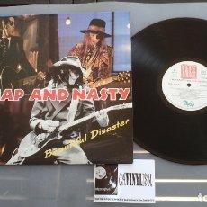 Discos de vinilo: CHEAP AND NASTY – BEAUTIFUL DISASTER LP - PROCEDE DE ALMACÉN DE DISCOGRÁFICA. IMPOLUTO. Lote 178385678