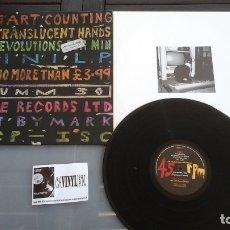 Discos de vinilo: I START COUNTING – MY TRANSLUCENT HANDS LP MUTE – STUMM 30 - PROCEDE DE ALMACÉN DE LA DISCOGRÁFIC. Lote 178386185
