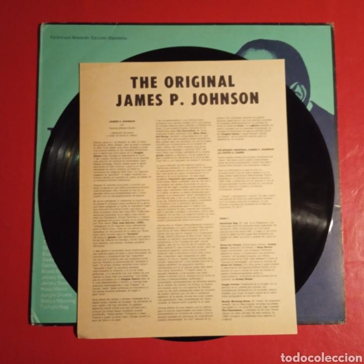 Discos de vinilo: The Original James P. Johnson - Foto 4 - 178386636