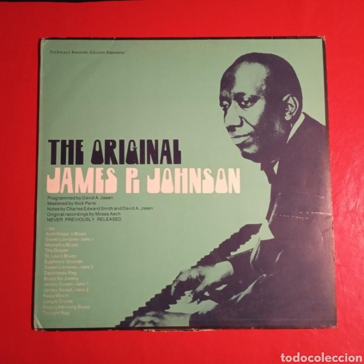 THE ORIGINAL JAMES P. JOHNSON (Música - Discos - LP Vinilo - Jazz, Jazz-Rock, Blues y R&B)