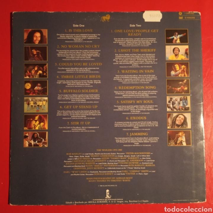 Discos de vinilo: Bob Marley and the Wailers Legend - Foto 2 - 178387897