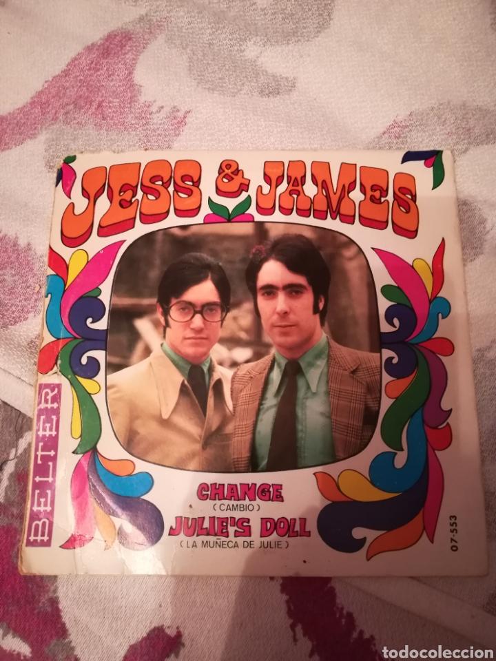 DISCO JESS & JAMES (Música - Discos - Singles Vinilo - Solistas Españoles de los 70 a la actualidad)