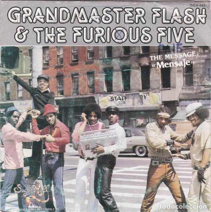 GRANDMASTER FLASH & THE FURIOUS FIVE DEL 82 (Música - Discos - Singles Vinilo - Rap / Hip Hop)
