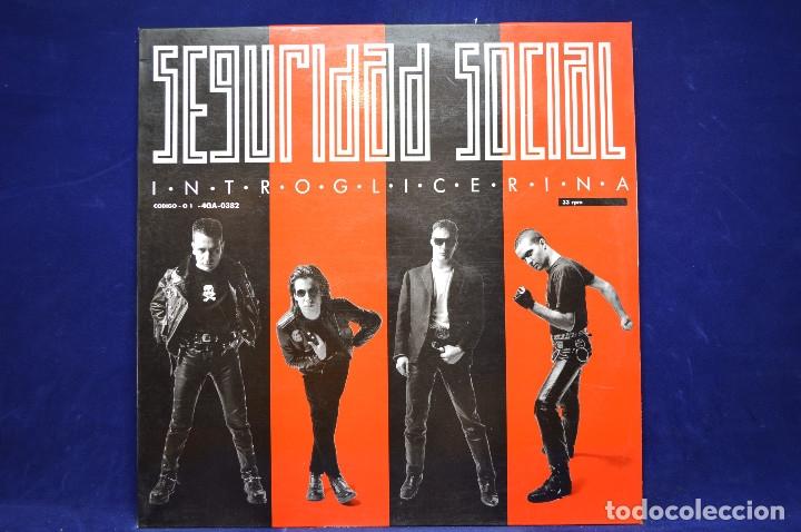 SEGURIDAD SOCIAL - INTROGLICERINA - LP (Música - Discos - LP Vinilo - Grupos Españoles de los 70 y 80)