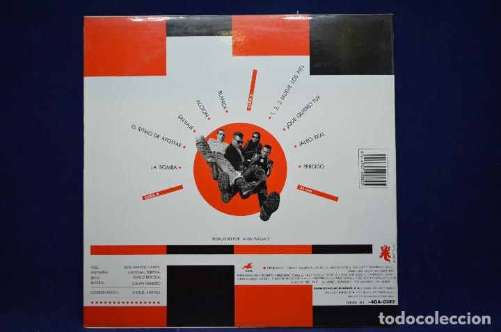 Discos de vinilo: SEGURIDAD SOCIAL - INTROGLICERINA - LP - Foto 2 - 178438030
