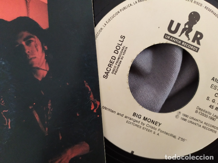 Discos de vinilo: SACRED DOLLS - BIG MONEY. Single promocional - Foto 2 - 178447496