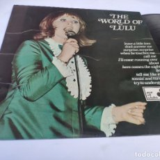 Discos de vinilo: LULU – LP SPAIN PS – THE WORLD OF – ORIG 1969 ACE OF CLUBS LABEL – ACL 100. Lote 178558156