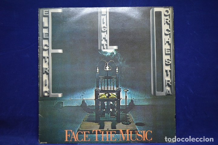 THE ELECTRIC LIGHT ORCHESTRA - FACE THE MUSIC - LP (Música - Discos - LP Vinilo - Pop - Rock - New Wave Extranjero de los 80)