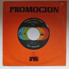 Discos de vinilo: BLONDIE – 45 SPAIN PROMO JUKEBOX – CALL ME – CHRYSALIS A 0165 – AÑO 1980. Lote 178559953