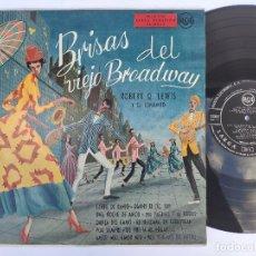 Discos de vinilo: THE CHORDETTES + OTROS – LP SPAIN PS – ORIGINAL AÑO 195? * EX * BRISAS DEL VIEJO BROADWAY. Lote 178561857