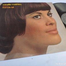 Discos de vinilo: MIREILLE MATHIEU – ORIG. LP SPAIN PS – CHANTE FRANCIS LAI – ARIOLA 86.081-1 * AÑO 1972. Lote 178564616