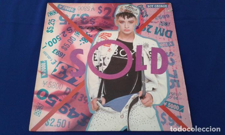 BOY GEORGE - VINILO (Música - Discos de Vinilo - EPs - Pop - Rock - New Wave Extranjero de los 80)