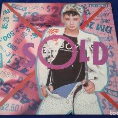 Discos de vinilo: BOY GEORGE - VINILO. Lote 178571568